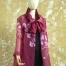 Sheer Silk Organza Artist Jacket
