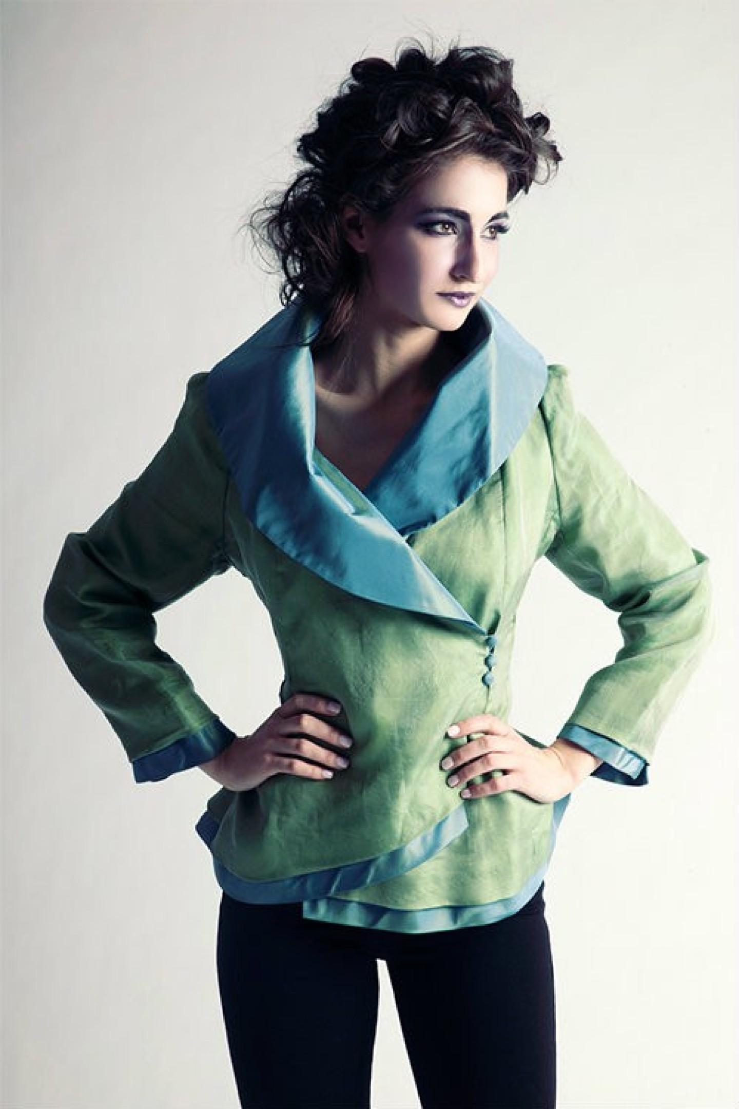 JWM Jackets RTW green jacket